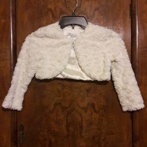 Bonnie Jean faux fur for girls